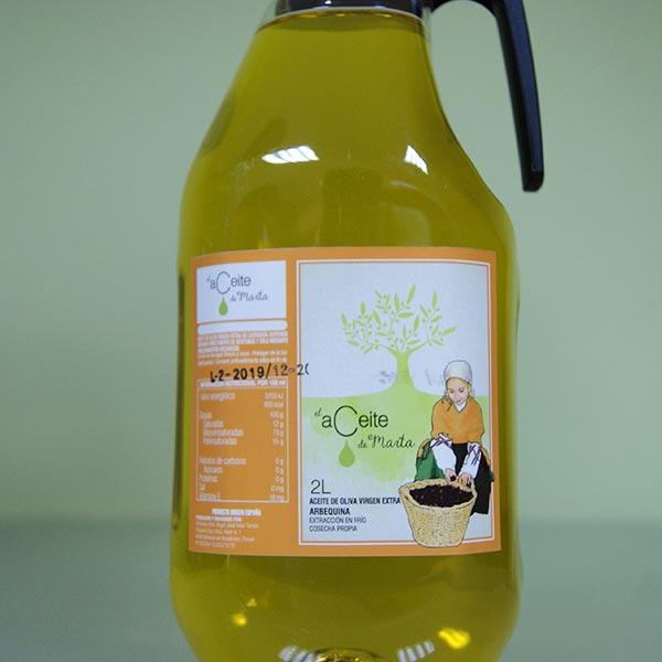 2 litros el aceite de marta arberquina