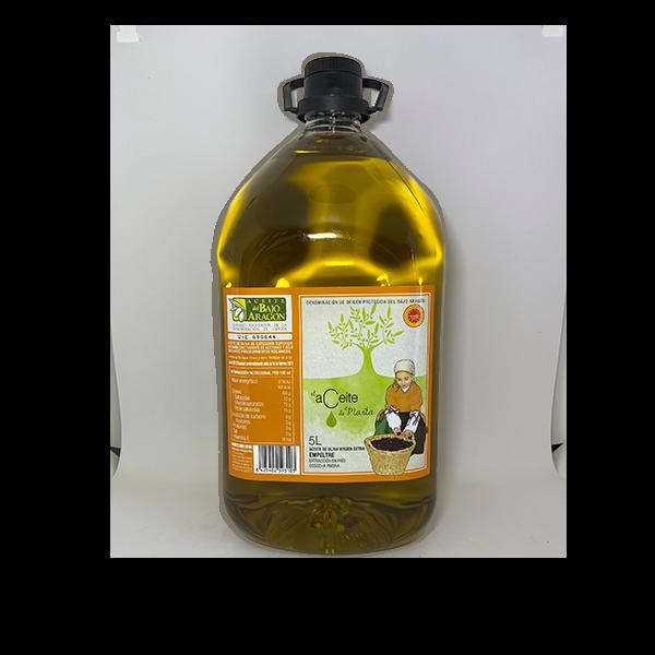 garrafa 5 litros el aceite de marta empeltre DO