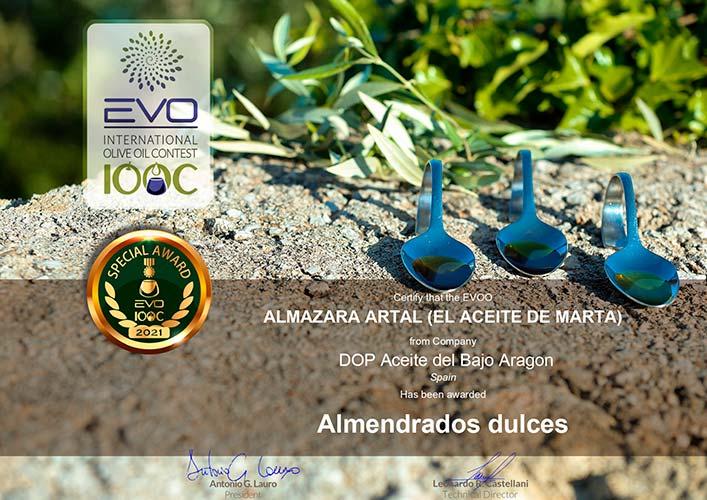 medalla oro iooc