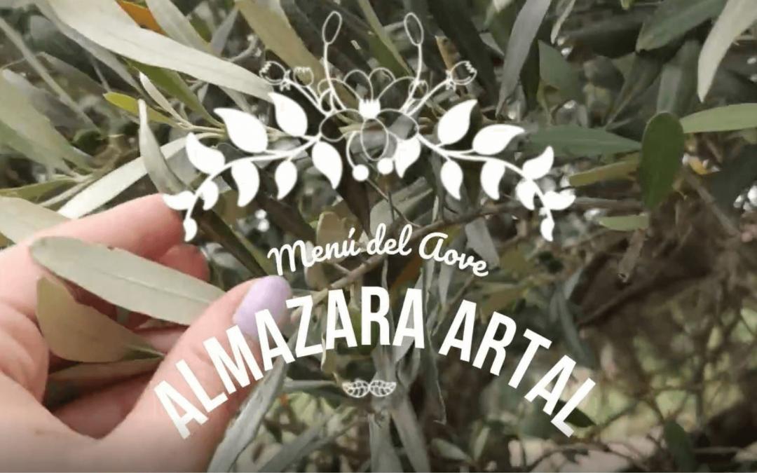 Almazara Artal presenta el Menú del AOVE con Lorena Palacios